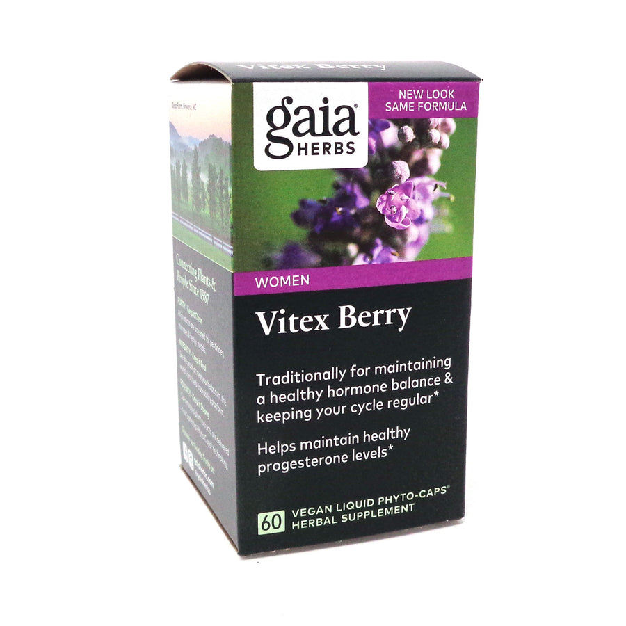 Vitex Berry  by Gia Herbs - 60 Capsules