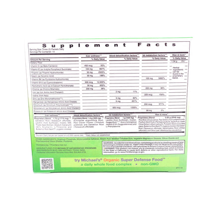 Ultimate Detox & Cleanse by Michael's Naturopathic - 42 Packets