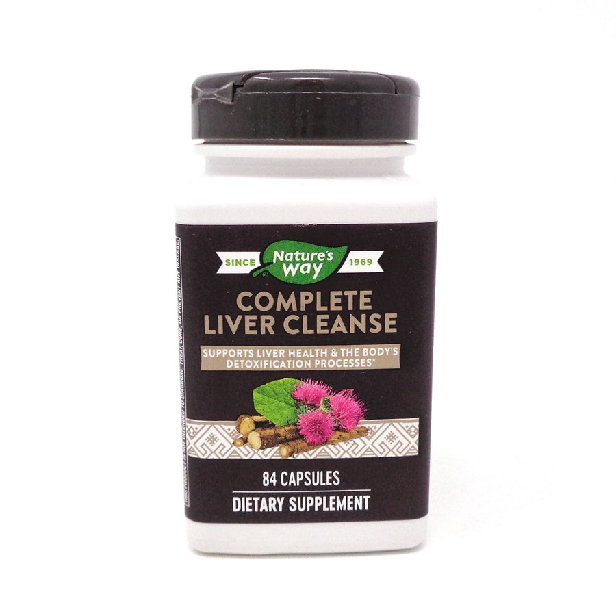 Natures Way (Formerly Enzymatic Therapy) Complete Liver Cleanse  - 84 Veg Caps