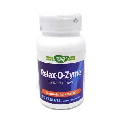 Natures Way (Formally Enzymatic Therapy) Relax-O-Zyme  - 90 Tablets