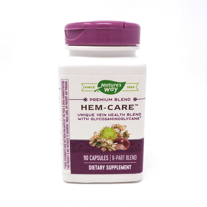 Enzymatic Therapy Hem-Care Vein Health  - 90 Capsules