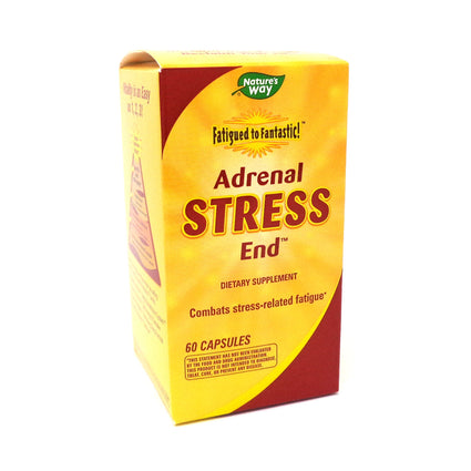 Enzymatic Therapy Fatigued to Fantastic! Adrenal Stress End  - 60 Capsules