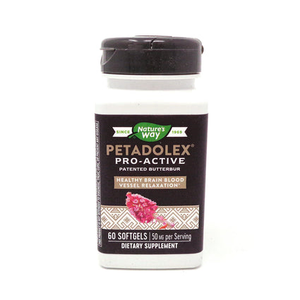 Natures Way (Formally Enzymatic Therapy) Petadolex   -  60 Softgels