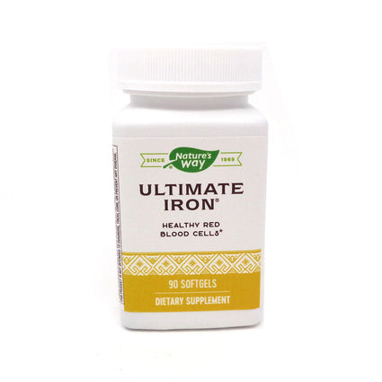 Enzymatic Therapy Ultimate Iron  - 90 Softgels