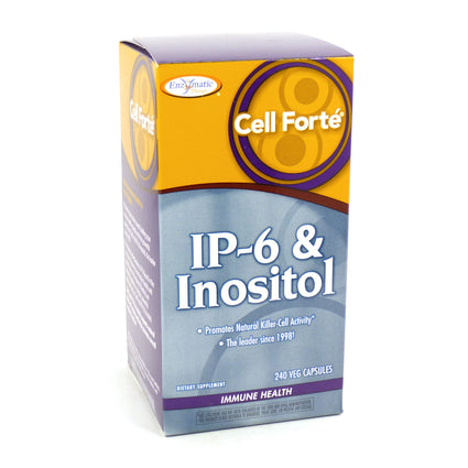 Enzymatic Therapy Cell Forte IP-6 & Inositol  240 Veg Capsules