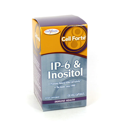 Enzymatic Therapy Cell Forte IP-6 & Inositol  120 Tablets