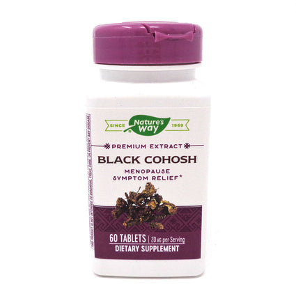 Black Cohosh By Natures Way (Formerly Enzymatic Therapy) - 60 Tablets