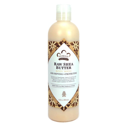 Body Wash Raw Shea Butter By Nubian Heritage - 13 Ounces