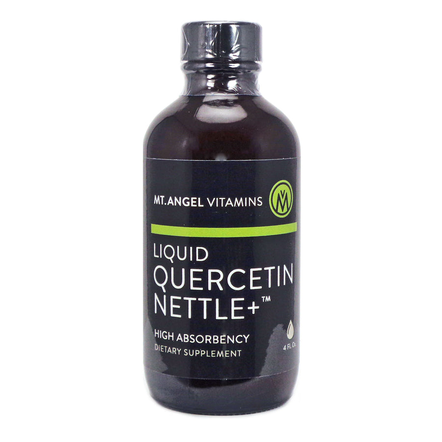 Liquid Quercetin & Nettle by Mt Angel - 4 Fluid Ounces