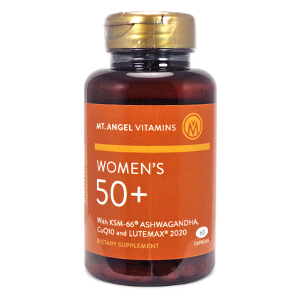 Womens 50+Multivitamin by Mt Angel - 60 Capsules