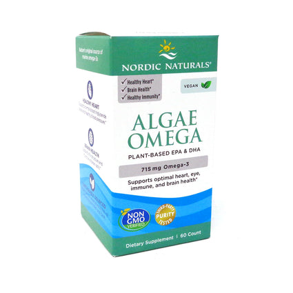 Algae Omega by Nordic Naturals - 60 Softgels