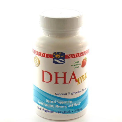 DHA Xtra By Nordic Naturals - 60 Softgels