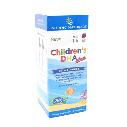Nordic Naturals Childrens DHA Xtra 2oz