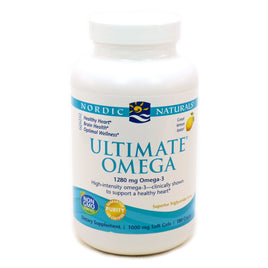 Ultimate Omega - Lemon by Nordic Naturals - 180 Softgels