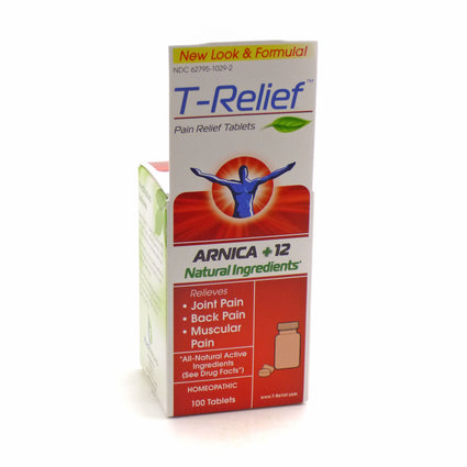 T-Relief (Formerly Traumeel) By Heel - 100 Tablets