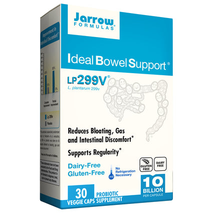 Ideal Bowel Support By Jarrow - 30 Capsules