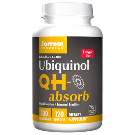 QH Absorb 100mg CoQ10 By Jarrow - 120 Softgels