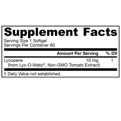 Lyco-Sorb 10 mg by Jarrow 60 Softgels