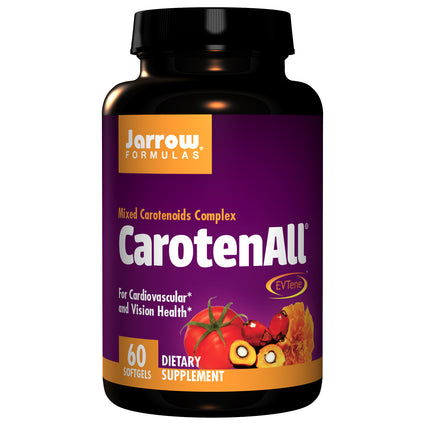 CarotenAll Mixed Carotenoid Complext By Jarrow - 60 Softgels