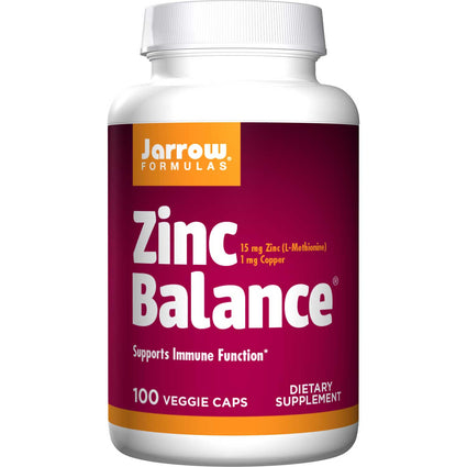 Zinc Balance Optizinc By Jarrow - 100 Capsules