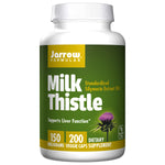 Milk Thistle Silymarin Extract 150mg By Jarrow - 200 Capsules