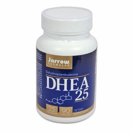 DHEA 25 Capsules  by Jarrow - 90 Capsules