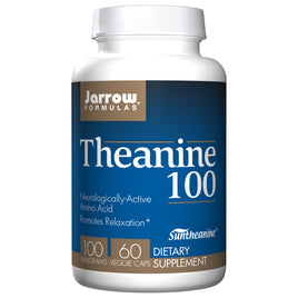 Theanine 100mg by Jarrow 60 Capsules