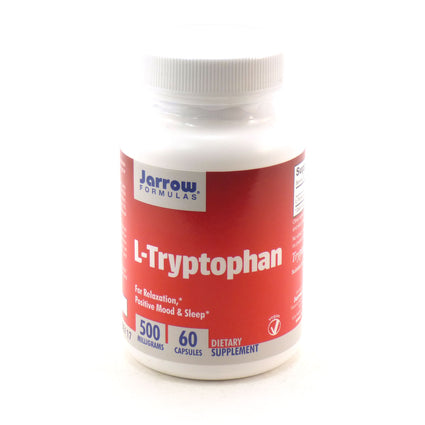 L-Tryptophan 500 mg by Jarrow - 60 Capsules