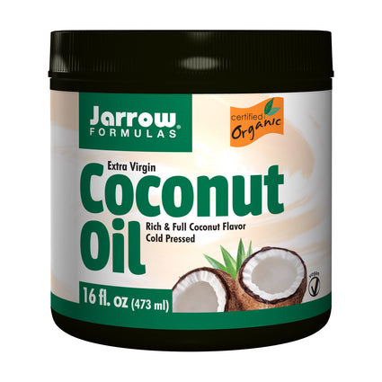 Extra Virgin Coconut Oil By Jarrow - 16 Ounces