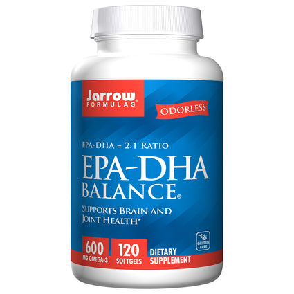 EPA-DHA Balance by Jarrow 120 Softgels