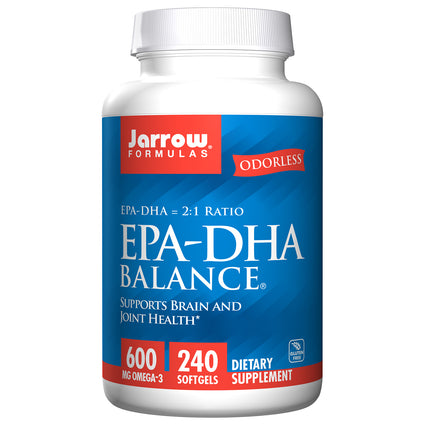 EPA-DHA Balance 600mg By Jarrow Formulas - 240 Softgels