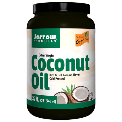 Extra Virgin Coconut Oil by Jarrow - 32 Ounces