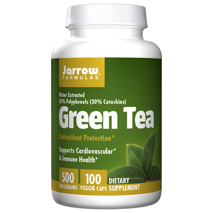 Green Tea 500mg By Jarrow  - 100 Capsules
