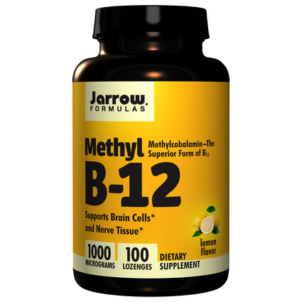 Methyl B-12 by Jarrow 100 Lozenges