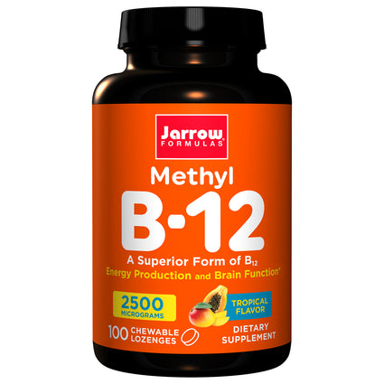 Methyl  Vitamin B-12 2500 mcg By Jarrow - 100 Lozenges
