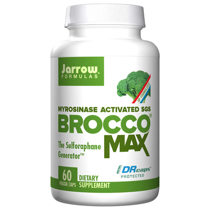 Broccomax Broccoli Seed Extract By Jarrow - 60 Vegetarian Capsules