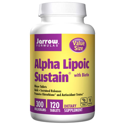 Alpha Lipoic Sustain by Jarrow Formulas -120 Tablets