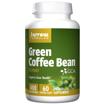 Green Coffee Bean Extract 400mg By Jarrow - 60 Capsules