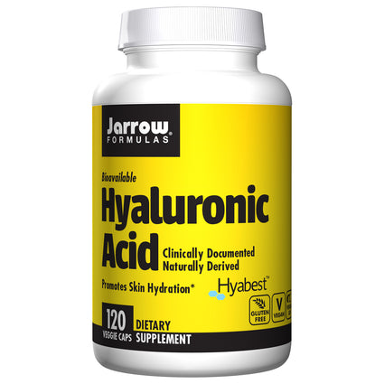 Hyaluronic Acid Complex By Jarrow - 120 Capsules