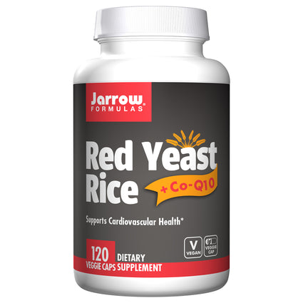 Red Yeast Rice + Co-Q10 By Jarrow - 120 Capsules