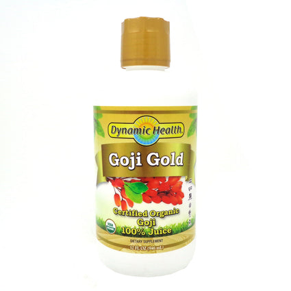 Goji Gold 100% Pure Organic Goji by Dynamic Health - 32 Ounces
