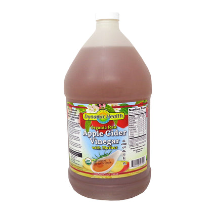 Apple Cider Vinegar with Mother Organic by Dynamic Health - 1 Gallon