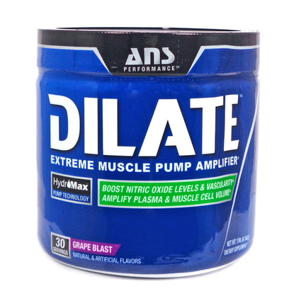 Dilate Grape Blast By ANS Performance - 30 Servings