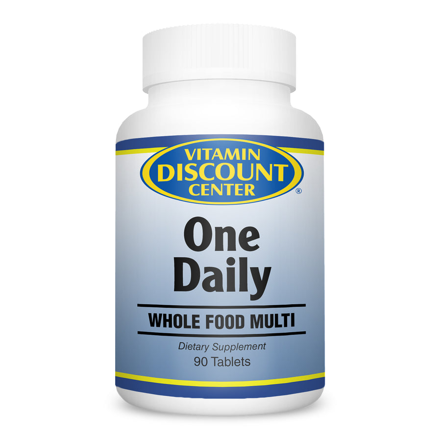 One Daily Whole Food Multivitamin By Vitamin Discount Center - 90 Tablets