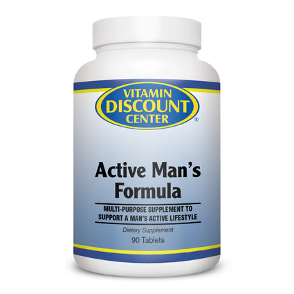 Active Mens Multivitamin by Vitamin Discount Center - 90 Tablets