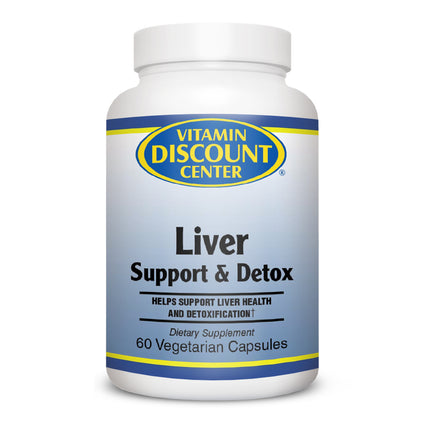 Liver Support and Detox By Vitamin Discount Center - 60 Veg Caps