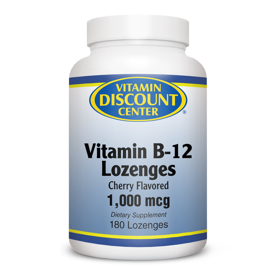 Vitamin B-12 1000 mcg by Vitamin Discount Center - 180 Lozenges