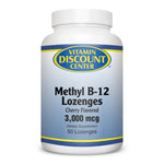 Methyl B-12 Lozenges 3000 mcg By Vitamin Discount Center - 50 Lozenges