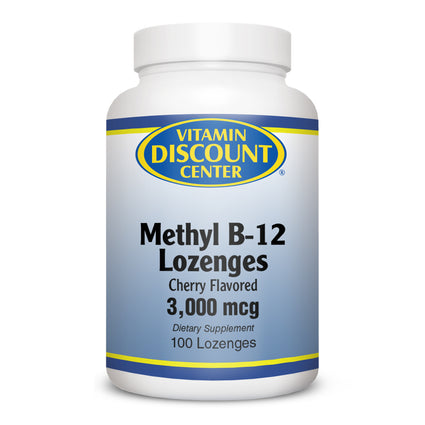 Methyl B-12(3000mcg) by Vitamin Discount Center- 100 Lozenges