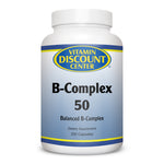 B-Complex 50 by Vitamin Discount Center 250 Capsules